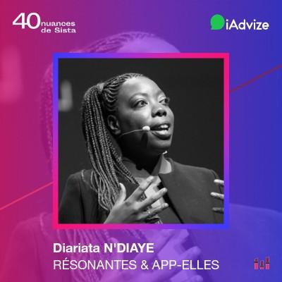 Diariata N'Diaye - Résonantes & App-Elles : La tech au secours des violences faites aux femmes cover
