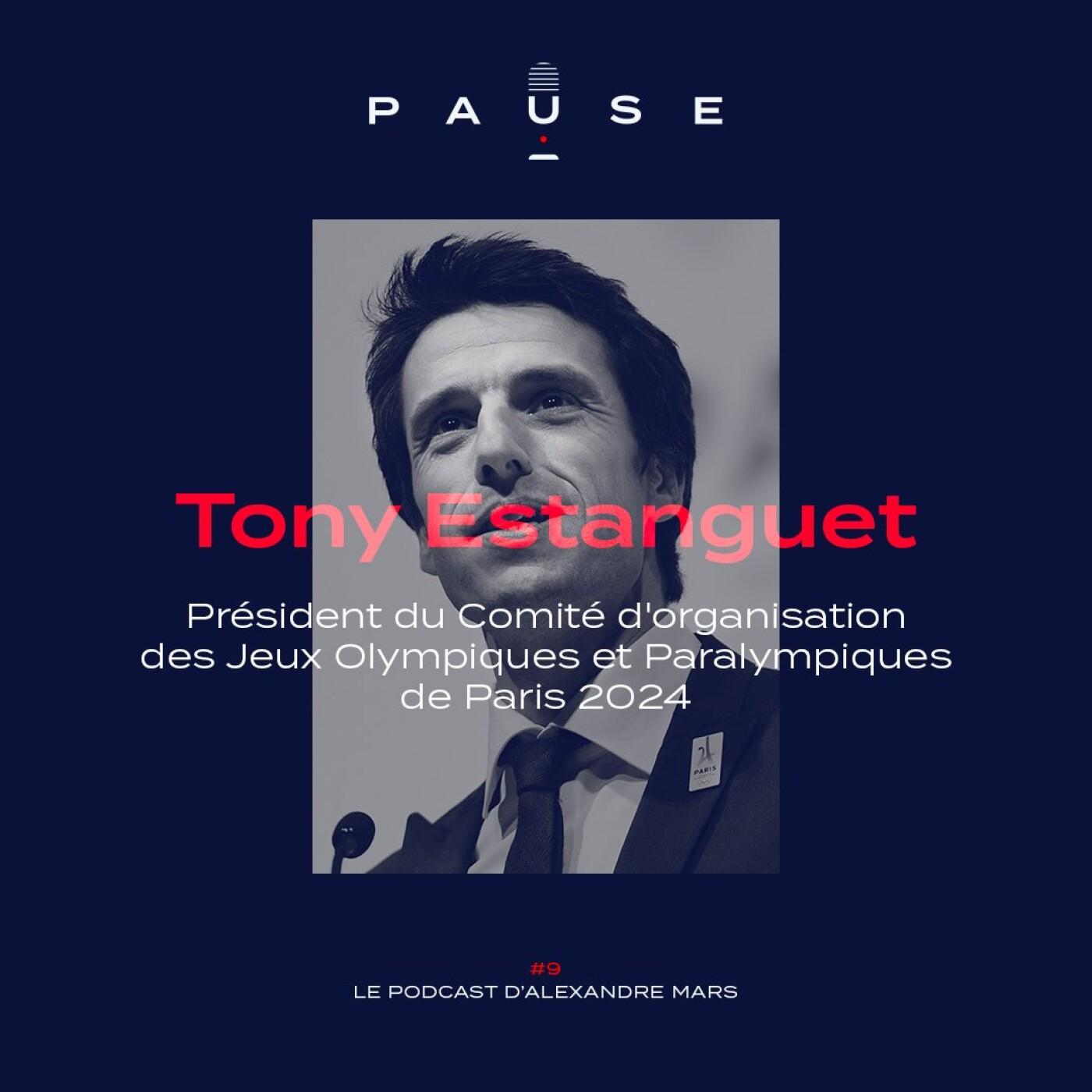 [REDIFFUSION] Tony Estanguet, Président du Comité d'Organisation des Jeux Olympiques & Paralympiques de Paris 2024