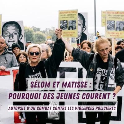 Selom et Matisse : Pourquoi des jeunes courent cover