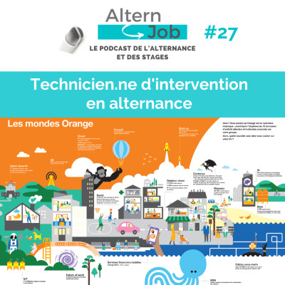 Orange recrute des Technicien.nes d'Intervention en alternance - EP27 cover