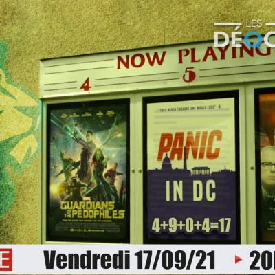 PANIC IN DC !!! - 17-09-21 cover