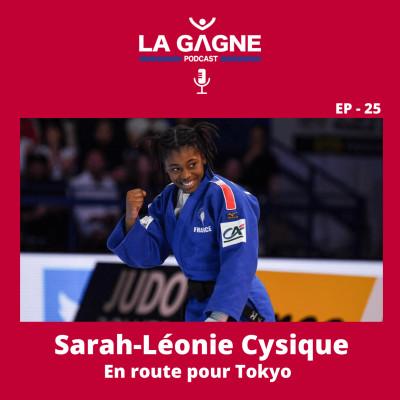 EP 25 - Sarah-Léonie Cysique, En route pour Tokyo cover