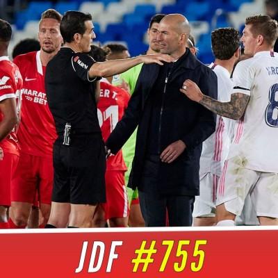 La colère de Zidane contre l'arbitrage, le PSG laisse filer LILLE vers le titre ! cover