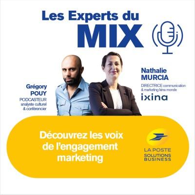 #1 - Nathalie Murcia, Ixina « Apporter un petit supplément d'âme à la relation client » cover