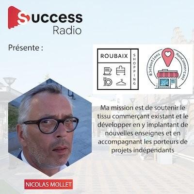 Nicolas Mollet / Roubaix Côté Commerce cover
