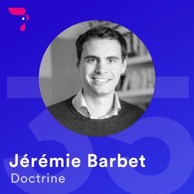 35 - Jérémie Barbet : aider les avocats au quotidien cover