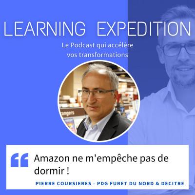 #56 - Pierre Coursières /// Amazon ne m'empêche pas de dormir ! - Furet du Nord & Decitre cover