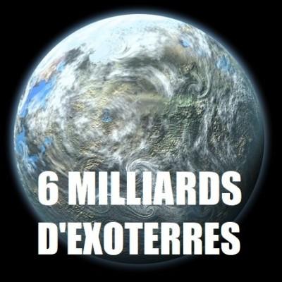 [DNDE] 6 MILLIARDS de TERRES dans la Voie Lactée ? cover