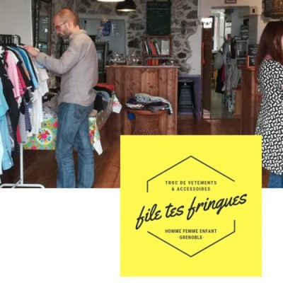 "Nouvelle Boutique ""file tes fringues"" à Grenoble cover"