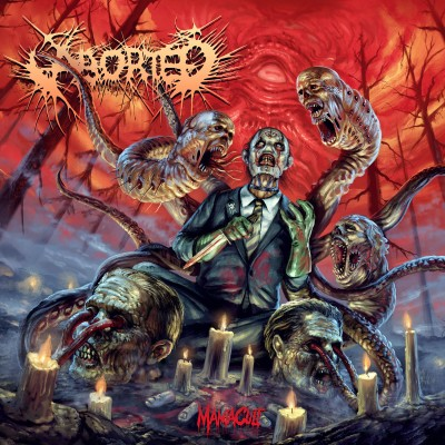 213Rock Podcast live interview Harrag Melodica 13 09 2021 with Sven du groupe Aborted cover