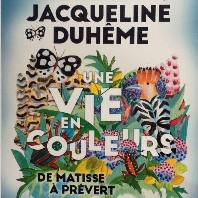 """image 22 mai : """"Jacqueline Duhême, une vie en couleurs"""" à la bibliothèque Forney"""