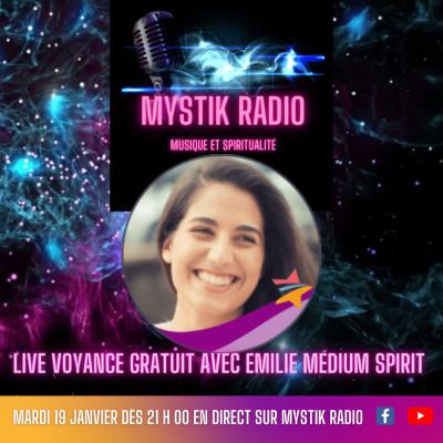 Live voyance gratuite avec Emilie médium spirit en direct sur Mystik Radio 19.01.2021 | Sophie Vita cover
