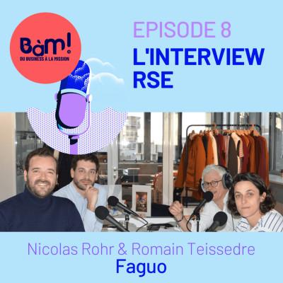 #8 L'Interview RSE– Faguo fait pousser ses engagements pour une mode plus durable cover