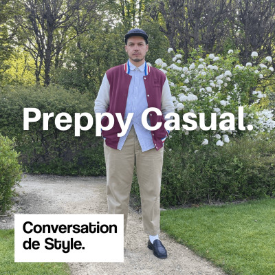 Street Style #21 - Le look preppy casual de Julien cover