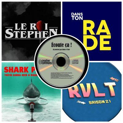 image Ep 36 : Zikdepod 8 (Retour Vers Le Turfu, Le Roi Stephen, Dans Ton Rade, Shark Parade)