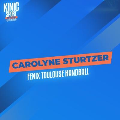 #9 - Carolyne Sturtzer : Fenix Toulouse Handball cover