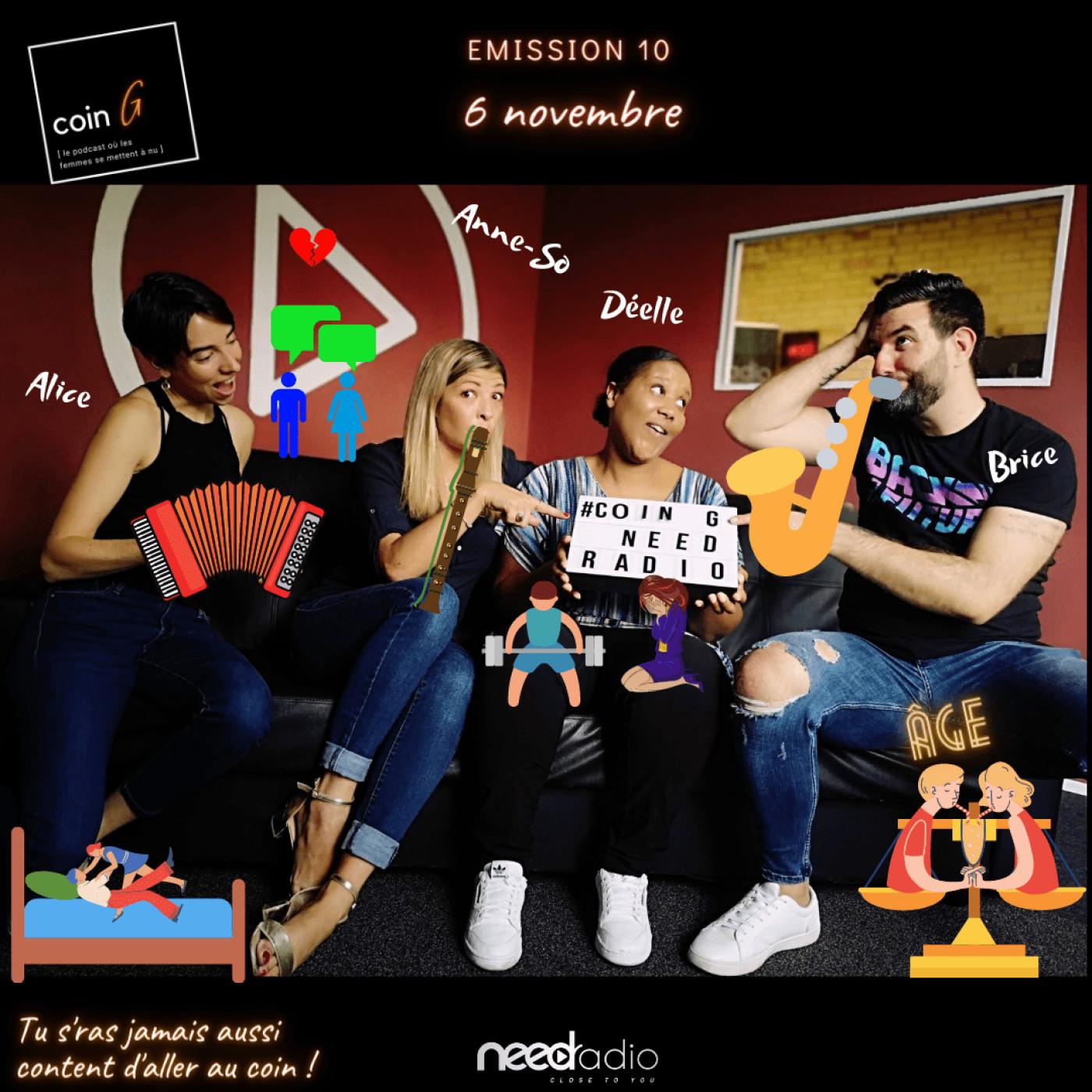 Coin G (avec Anne-So, Déelle et l'équipe) (06/11/20)
