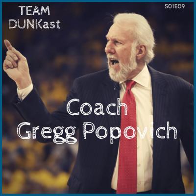 image Team Dunkast - Coach Gregg Popovich