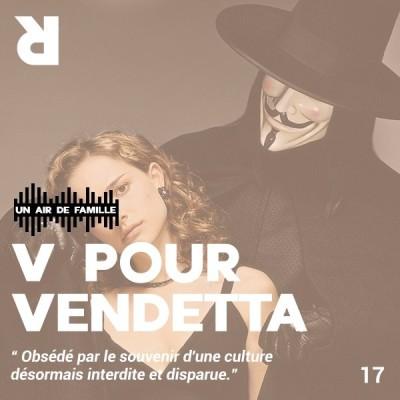 Un Air De Famille #17 - V-Pour-Vendetta cover