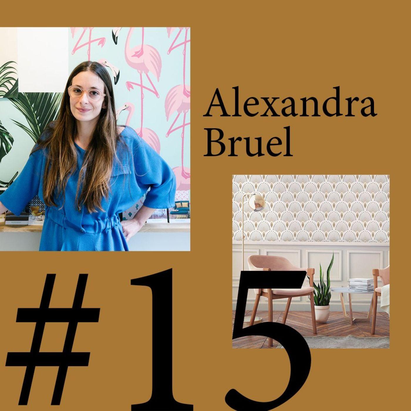 """#15 Alexandra Bruel (PaperMint) """"Il y a un véritable intérêt pour le décor mural"""""""