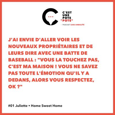 #01 Juliette • Home Sweet Home cover