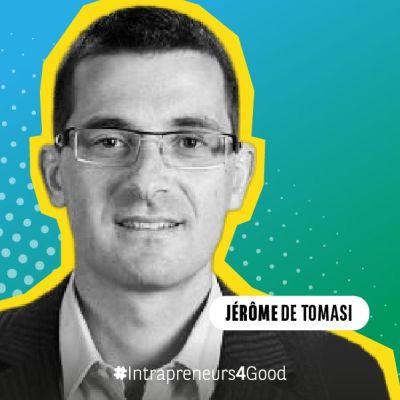 Jérôme de Tomasi intrapreneur chez Vinci, fondateur de Waste MarketPlace cover
