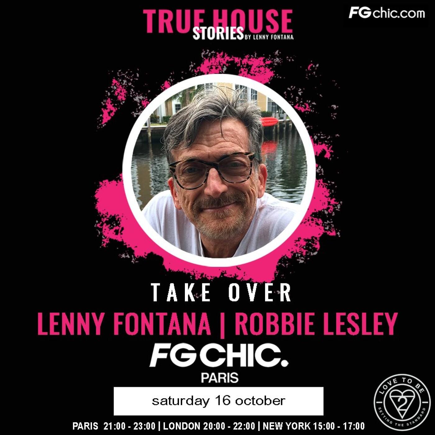 TRUE HOUSE STORIES BY LENNY FONTANA AVEC ROBBIE LESLEY DU 16...