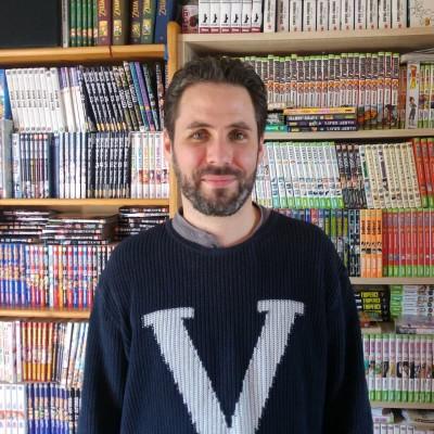Un Manga Kissa à Angers avec Fabien Bulcourt cover