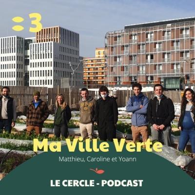 #3 Matthieu Arar & Caroline Benito & Yoann Mermoud, Ma Ville Verte cover