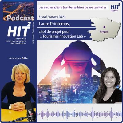 Laure Printemps, chef de projet pour «Tourisme Innovation Lab» cover