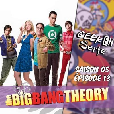 Geek en série 5x13: the big bang theory cover