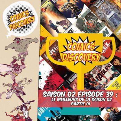 image ComicsDiscovery S02E39 Le meilleurs de la saison 02 Partie 01