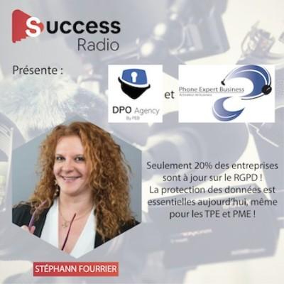 Stéphann Fourrier, créatrice DPO Agency et Phone Expert Business cover