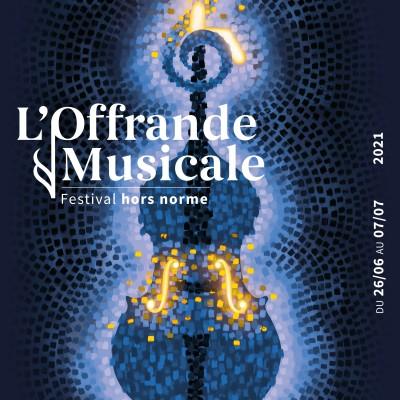 """David Fray : Programmation du festival """"L'Offrande Musicale"""" 2021 cover"""