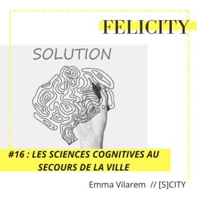 #16 : les sciences cognitives au secours de la ville cover
