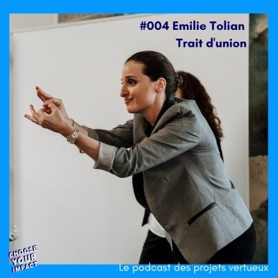 #004 Emilie Tolian - TRAIT D'UNION ou comment développer l'accessibilité pour les sourd.es et malentendant.es cover
