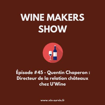 #45 - Quentin Chaperon : Directeur de la relation châteaux chez U'Wine cover