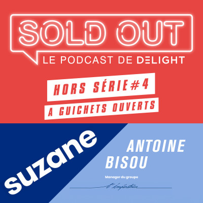 SOLD OUT HORS SERIE #4 – SUZANE & Antoine BISOU (L'IMPERATRICE) cover