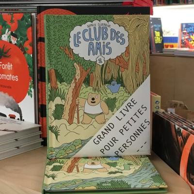 Grands livres pour petites personnes #9 - Le club des amis cover
