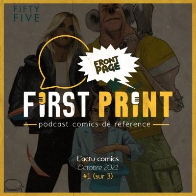 Front Page : l'actualité comics d'octobre 2021 #1 (sur 3) ! cover