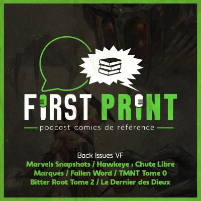 Tortues Ninja, Marvels Snapshots, Le Dernier des Dieux : lectures VF en vrac et en tous genres ! [Back Issues cover