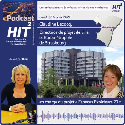 Claudine Lecocq, Directrice de projet de ville et Eurométropole de Strasbourg en charge du projet «Espaces Extérieurs 23» cover