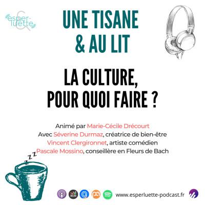 La culture, pour quoi faire ? - Une Tisane & Au Lit cover