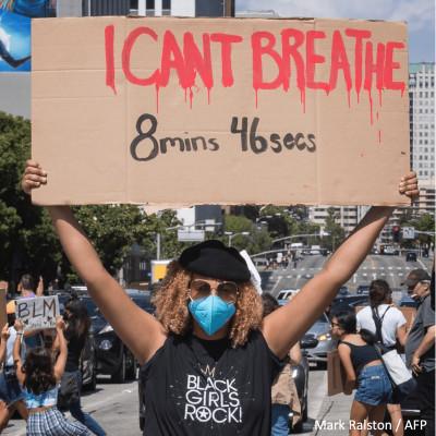 """[REDIFF] """"I can't breathe"""" : l'Amérique se soulève cover"""