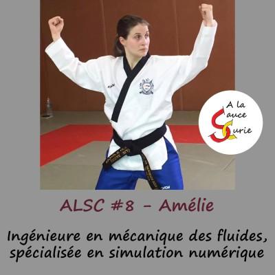 Amélie, Ingénieure en mécanique des fluides spécialisée en simulation numérique [ALSC S01E08]