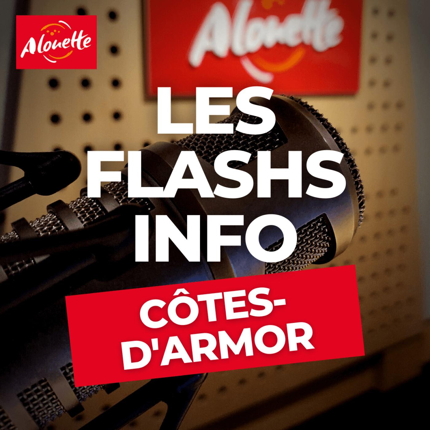 Alouette - Les Infos du 27 Septembre 07h30 en Côtes-d'Armor.