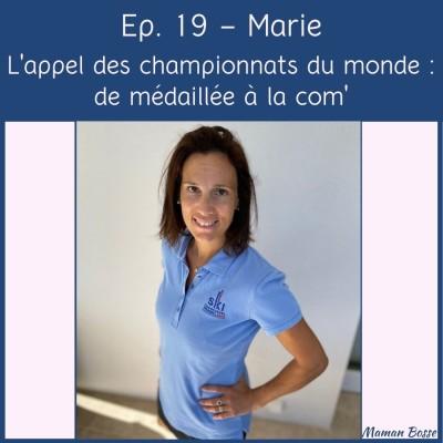 Marie - L'appel des championnats du monde : de médaillée à la com' 🎿 cover