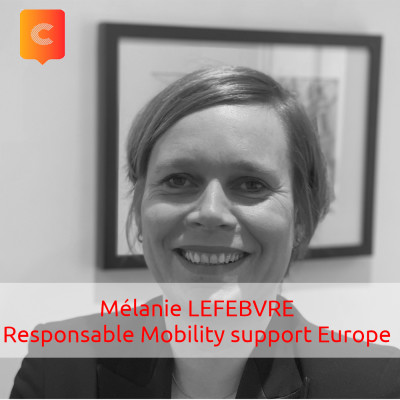 S02E02 - Mélanie LEFEBVRE - Responsable Total Mobility support Europe - Total cover