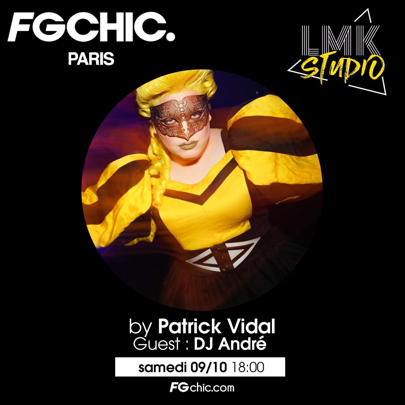 LMK STUDIO AVEC PATRICK VIDAL DU 9 OCTOBRE 2021