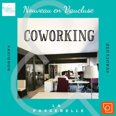 La Passerelle Corworking à Avignon s'agrandit - Nouveau en Vaucluse cover